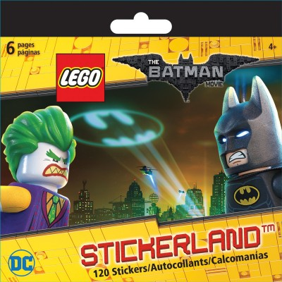 Trends International Lego Mini Stickerland Pad 6/Pages - Dc The Batman Movie