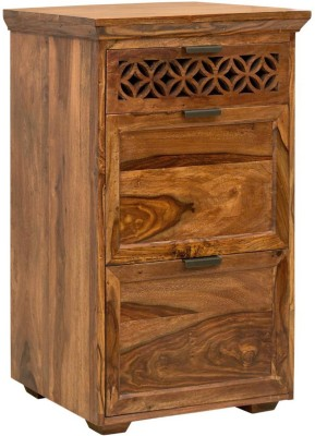 The Attic Solid Wood Free Standing Chest of Drawers(Finish Color - Honey)