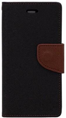 Avzax Flip Cover for Karbonn Smart A7 Star(Black, Cases with Holder)