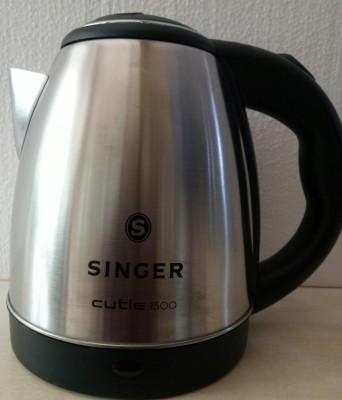 Singer CUTIE 1500 1.5LTR(SKT 150 CSLT) Electric Kettle(1.5 L, White)  available at flipkart for Rs.1099