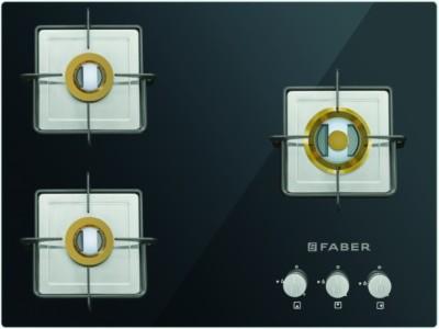 Faber Nexus HT905 CRS BR CI 5 Burners Hob Cooktop (Black)