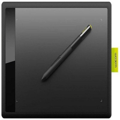 WACOM One By CTL-471/K0-CX 8.3 x 5.7 inch Graphics Tablet(Black & Green)  available at flipkart for Rs.4061