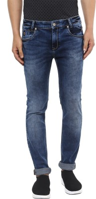 Mufti Slim Men Blue Jeans at flipkart