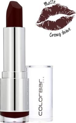 Colorbar Velvet Matte Lipstick-Check Mate(Grey)