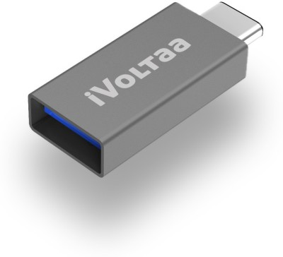 iVoltaa USB, USB Type C OTG Adapter(Pack of 1)