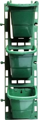SHOPTICO Plant Pot Plant Container Set(Plastic)  available at flipkart for Rs.255