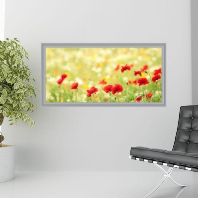 Compare impression wall flowers poster without frame paper print 19 ...