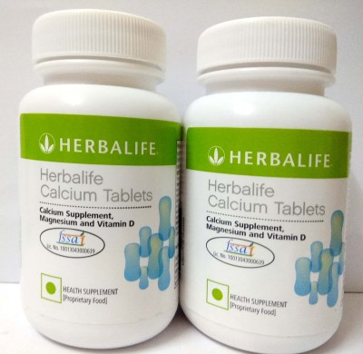 Herbalife Calcium Tablets Pack of 2 Nutrition Bars(120 g, Unflavored)