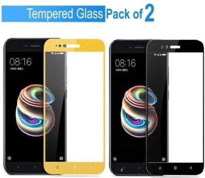 Ridhaniyaa Tempered Glass Guard for Mi A1 Pack of 1