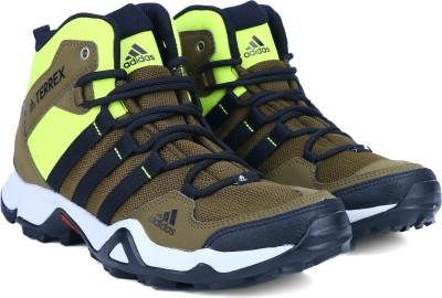 45% OFF on ADIDAS PATH CROSS MID Outdoor Shoes For Men(Green) on Flipkart  0ba31a96e