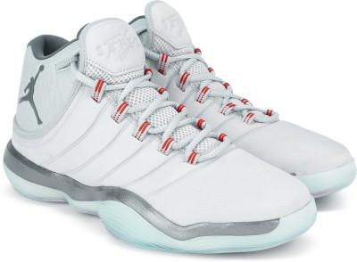 1dfb69a4375 Buy Nike JORDAN SUPERFLY 2017 Basketball Shoes For Men(Grey) on Flipkart |  PaisaWapas.com