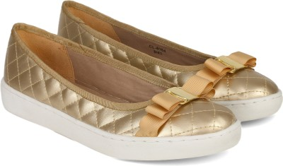 Carlton London CLL-4047 Ballerina For Women(Gold)