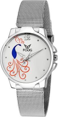 Fogg 4048-SL Modish Analog Watch For Women