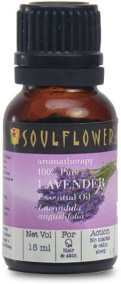 Soulflower Essential Oil Lavender(15 ml)