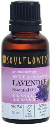 Soulflower Lavender Essential Oil(30 ml)