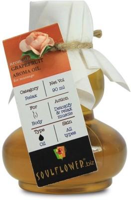 Soulflower Grapefruit Anti Cellulite Aroma Massage Oil(90 ml)