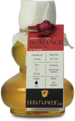 Soulflower Romance Aroma Massage Oil(90 ml)