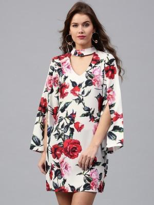 Sassafras Women Sheath Multicolor Dress