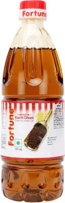 Fortune Kachi Ghani Mustard Oil 500 ml Plastic Bottle