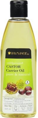 Soulflower Castor Carrier Hair Oil(225 ml)