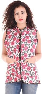 Apratim Sleeveless Printed Women Jacket