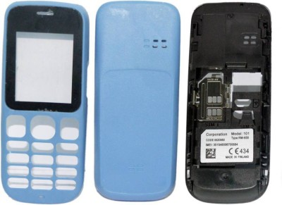 Boom Replacement Full Body Housing Panel For Nokia 101 Full Panel(Blue)