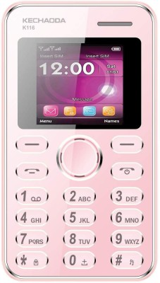 Kechoda K116 Music Phone(Pink)