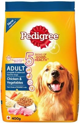 Pedigree adult Chicken, Vegetable 400 g Dry Dog Food