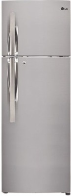LG 260 L Frost Free Double Door 3 Star Refrigerator(Shiny Steel, GL-T292RPZU)  available at flipkart for Rs.24399