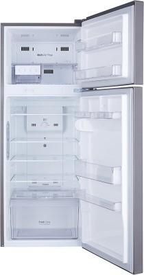 LG 284 L Frost Free Double Door 2 Star  2020  Refrigerator Shiny Steel, GL C302RPZU