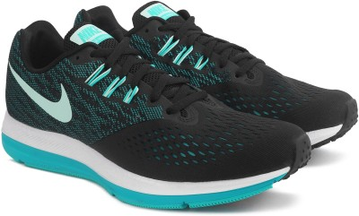 Nike WMNS NIKE ZOOM WINFLO 4 Training & Gym Shoes For Men(Green, Black) 1