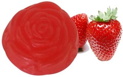 Soulflower Strawberry Pure Gylcerin Soap(100 g)