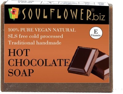 Soulflower Hot Chocolate Soap(150 g)