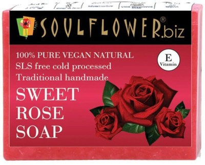 Soulflower Sweet Rose Soap(150 g)