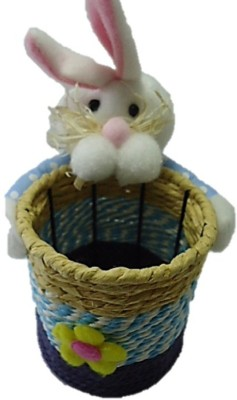 tako bell Teddy With Pen Stand....Very Attractive To Make You Have A Good Feeling All The Time----51  - 10 cm(Blue)  available at flipkart for Rs.299