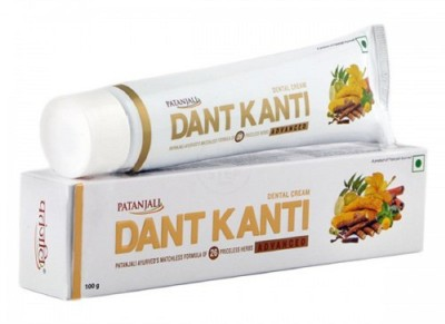 Patanjali Dant Kanti Advance Dental Cream Toothpaste 100 GM