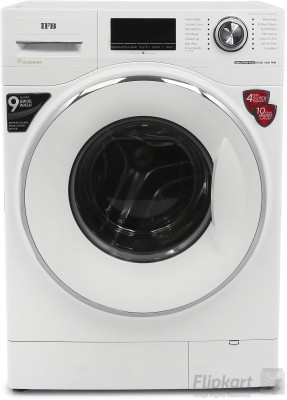 IFB 8.5 kg Fully Automatic Front Load Washing Machine White(Executive Plus VX ID)   Washing Machine  (IFB)