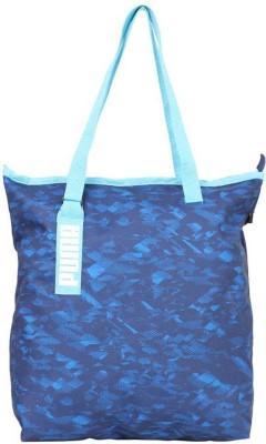 Puma Core Active Shopper Shoulder Bag(Blue, 16 L)