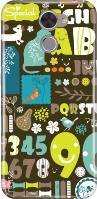Noise Back Cover for Honor Holly 4 Plus(Multicolor, Plastic)