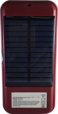 Home Delight 21 LEDs Solar Rechageable Emergency Light with Power Bank Emergency Light(Red)