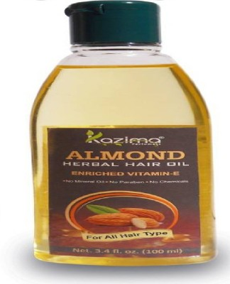 kazima Almond oil 100ml Hair Oil(100 ml)  available at flipkart for Rs.129