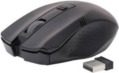 TECHON adnet 2.4ghz wireless mouse Wireless Optical Mouse USB, Black
