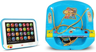 Fisher-Price laugh & learn musical toy & baby joy swing(Multicolor)  available at flipkart for Rs.1199