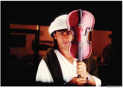 wall poster shahrukh khan and violin in pardes original POSTER PRINT ON 13X19 INCHES Paper Print(19 inch X 13 inch, Rolled)  available at flipkart for Rs.190