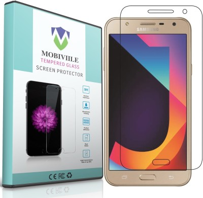 MOBIVIILE Tempered Glass Guard for Samsung Galaxy J7 Nxt (New July 2017 Launched), Samsung Galaxy J7 - 2015(Pack of 1)