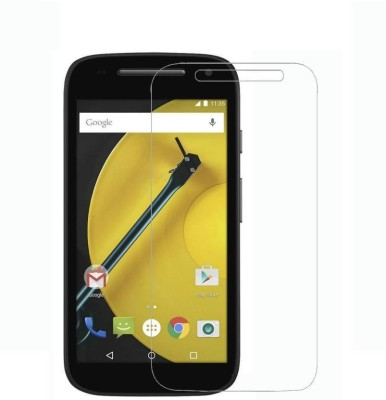 S-Softline Tempered Glass Guard for Motorola Moto E (2nd Gen) 4G, Motorola Moto E (2nd Gen) 3G(Pack of 1)