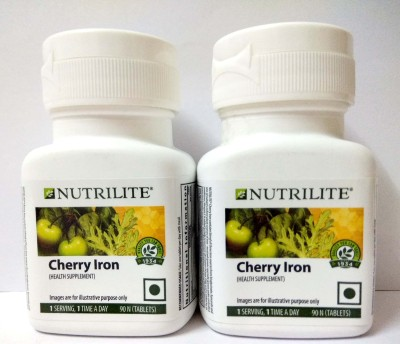 Amway Nutrilite Cherry Iron Pack Of 2(2 mg)