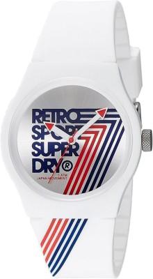 Superdry SYG181W Urban Retro Analog Watch For Unisex