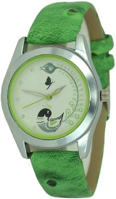 Maan International New Staylish Fancy Green Analogue Watch  - For Women   Watches  (Maan International)
