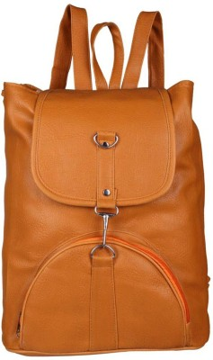 VIEW BAGS VIEW03BP 8 L Backpack(Tan)  available at flipkart for Rs.299